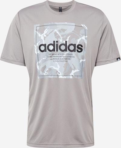 ADIDAS PERFORMANCE Funkční tričko - šedá / bílá, Produkt