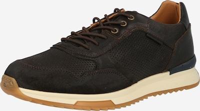 Sneaker low BULLBOXER pe maro închis, Vizualizare produs