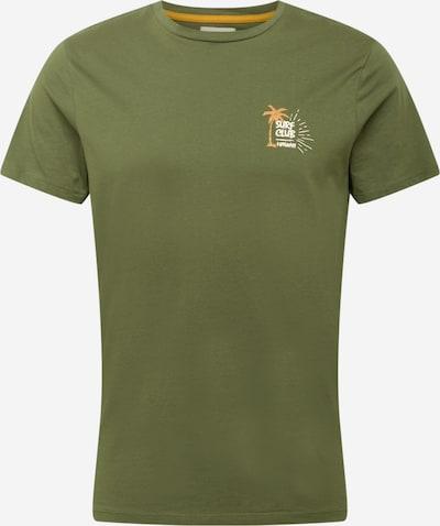 Redefined Rebel Shirt 'Ryder' in goldgelb / khaki / weiß, Produktansicht
