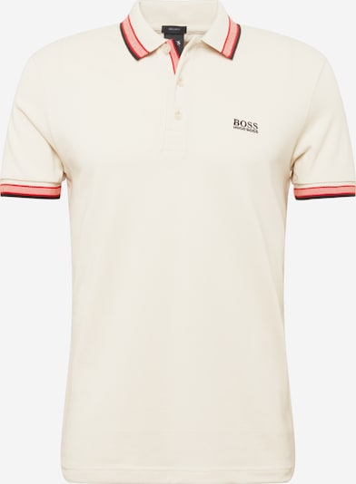 BOSS ATHLEISURE T-Krekls 'Paddy', krāsa - krēmkrāsas / koraļļu / melns, Preces skats