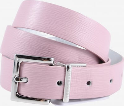Longchamp Lederimitatgürtel in XS-XL in pink, Produktansicht