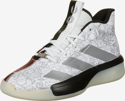 ADIDAS PERFORMANCE Basketballschuh 'Pro Next 2019 Star Wars' in rot / schwarz / silber / weiß, Produktansicht