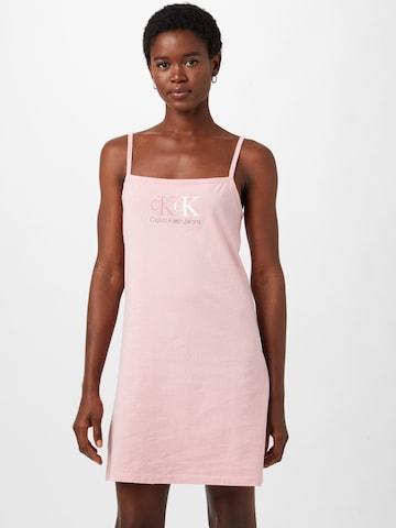 Calvin Klein Jeans Summer Dress in Pink