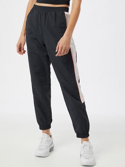 Pantaloni sport ONLY PLAY pe albastru marin / portocaliu somon / alb, Vizualizare model