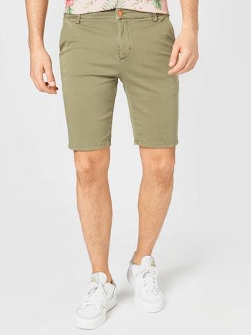 Pantaloni chino di Goldgarn in verde