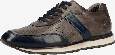DANIEL HECHTER Sneaker in enzian / braun, Produktansicht