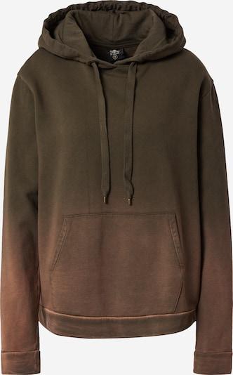 FC St. Pauli Sweat-shirt en marron / brun foncé, Vue avec produit