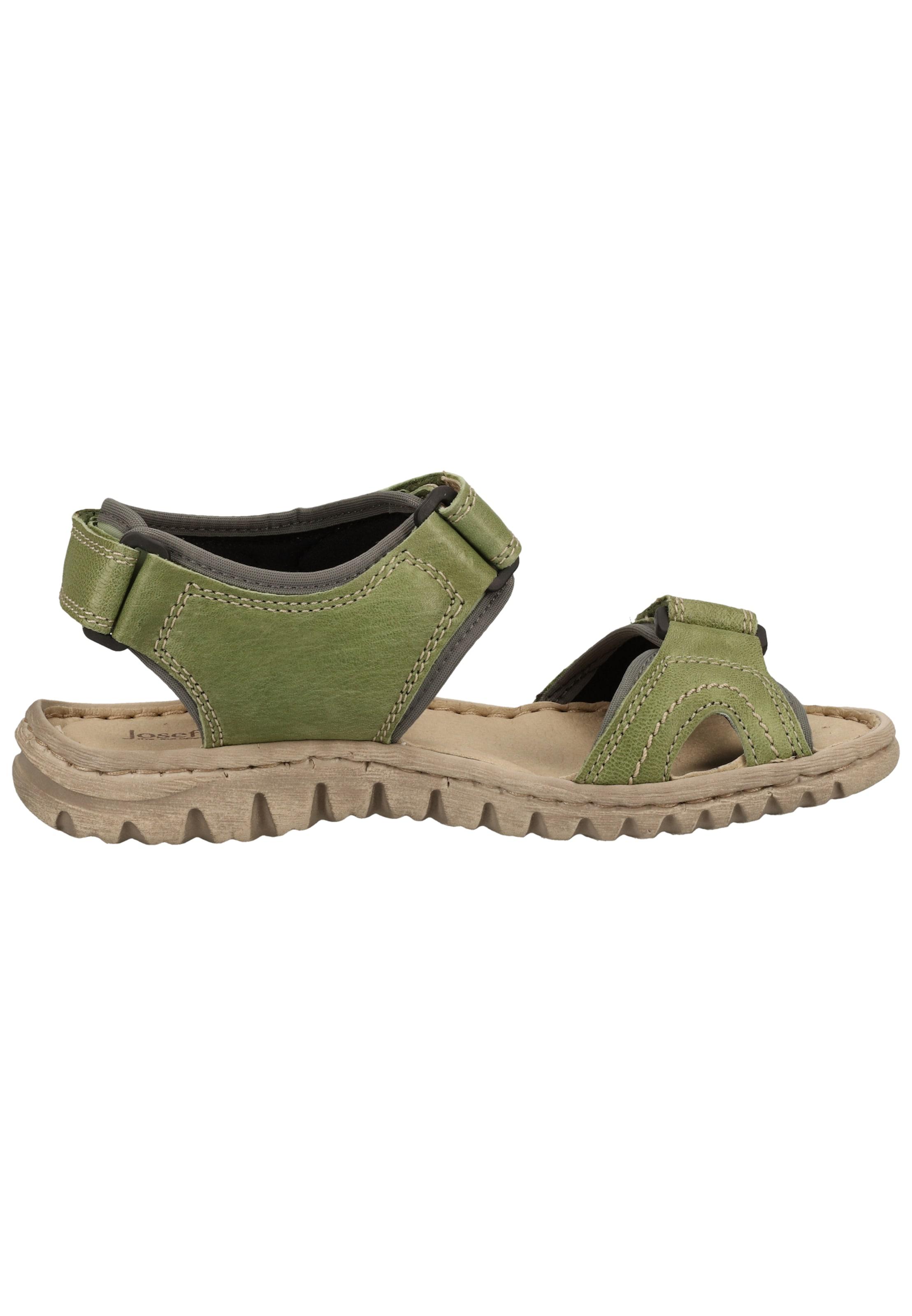 JOSEF SEIBEL Sandale in oliv
