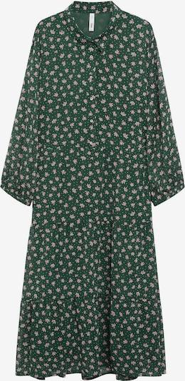 MANGO Košilové šaty 'VERDEJO1' - zelená / pink / bílá, Produkt