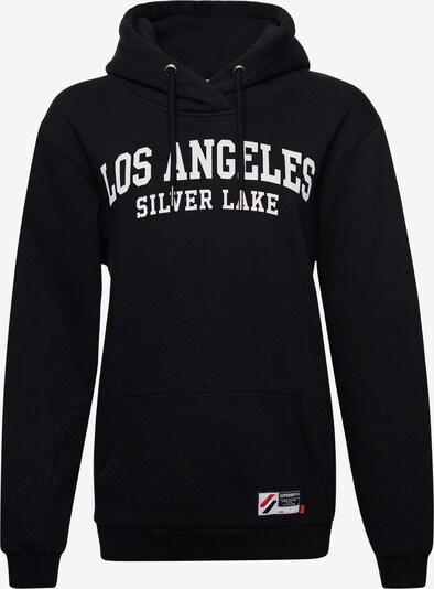 Superdry Sweatshirt in de kleur Zwart: Vooraanzicht