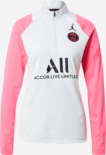 NIKE Functioneel shirt 'Paris Saint-Germain' in de kleur Rosa / Zwart / Wit, Productweergave