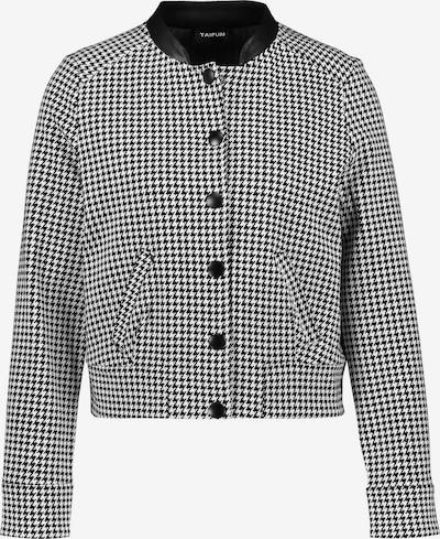 TAIFUN Jacke in schwarz / weiß, Produktansicht