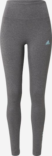 Pantaloni sportivi ADIDAS PERFORMANCE di colore acqua / pietra, Visualizzazione prodotti
