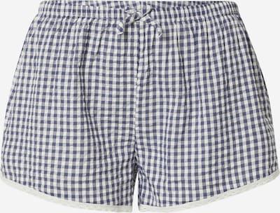 AERIE Shorts in blau / weiß, Produktansicht