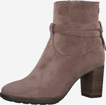 TAMARIS Ankle Boots in Pink