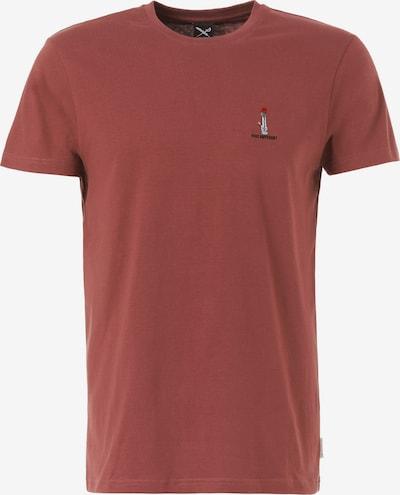 Iriedaily T-Shirt in rot, Produktansicht