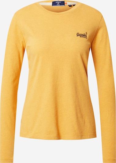 Superdry Shirt in goldgelb / schwarz, Produktansicht