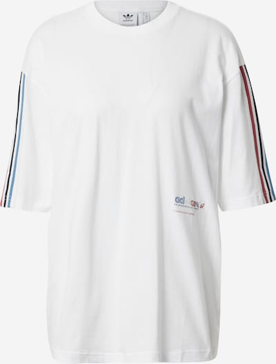ADIDAS ORIGINALS Oversized shirt in Royal blue / Red / White, Item view