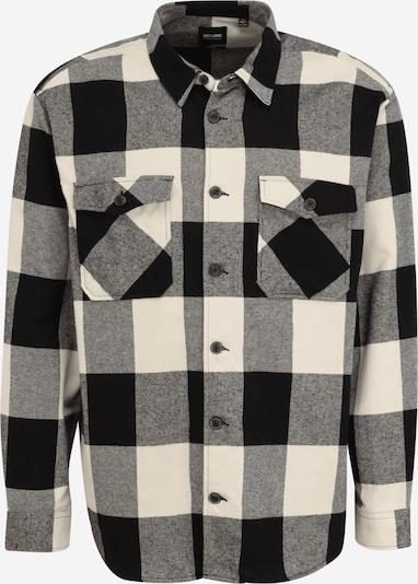 Only & Sons Big & Tall Hemd 'MILO' in beige / schwarz, Produktansicht
