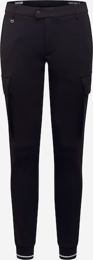 Pantaloni cu buzunare 'NIKKI' ANTONY MORATO pe negru / alb, Vizualizare produs