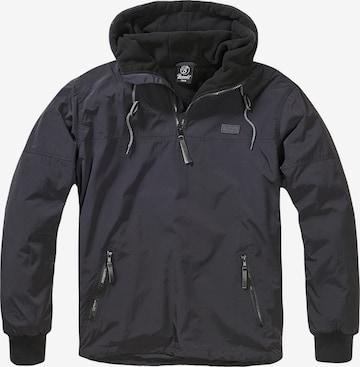 Brandit Between-Season Jacket in Black