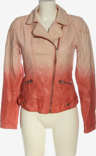 RINO & PELLE Kunstlederjacke in S in creme / rot, Produktansicht