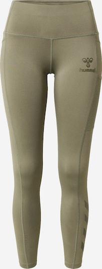 Hummel Športové nohavice - zelená / čierna, Produkt