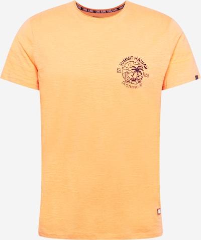 Tricou 'ONTARIO' Cars Jeans pe albastru noapte / portocaliu amestecat, Vizualizare produs