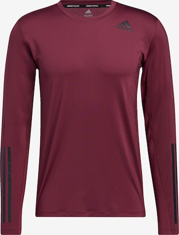 ADIDAS PERFORMANCE Funktionsshirt 'Techfit' in Rot