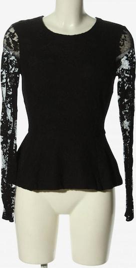 Vanilia Spitzentop in S in schwarz, Produktansicht