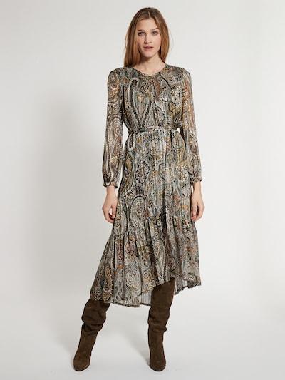 Ana Alcazar Kleid 'Effy' in grün / mischfarben, Modelansicht