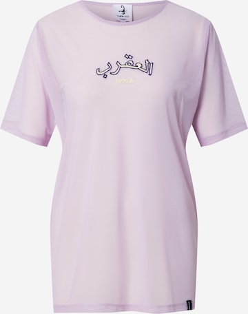 VIERVIER Shirt 'Pia' - fialová