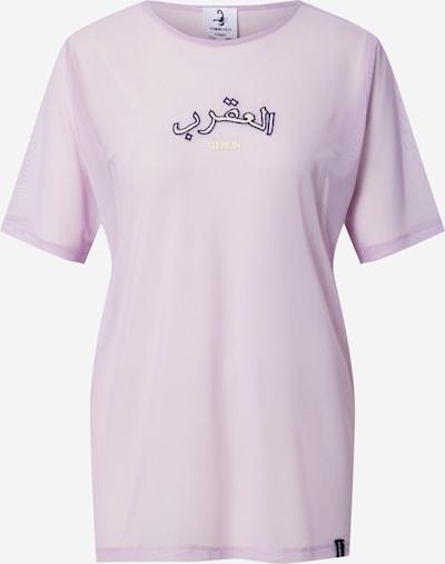 VIERVIER Shirt 'Pia' in lila, Produktansicht