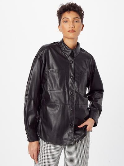 Bluză Q/S by s.Oliver pe negru, Vizualizare model