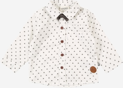 JACKY Hemd in basaltgrau / weiß, Produktansicht
