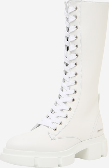 Copenhagen Lace-up boot in white, Item view