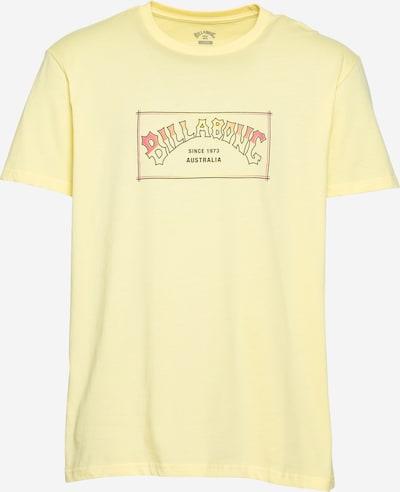 BILLABONG Funkční tričko 'ARCH SS' - hnědá / zlatě žlutá / světle žlutá, Produkt