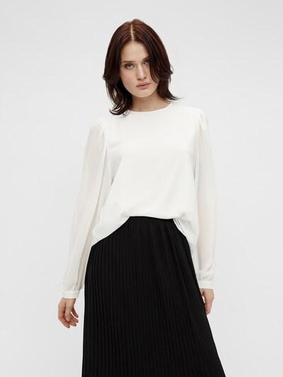 OBJECT Bluse 'MILA' in weiß, Modelansicht