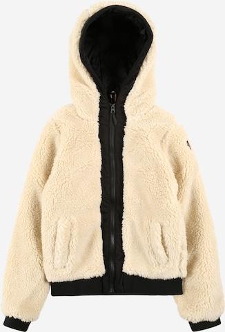 Brunotti Kids Fleece jacket 'Chiyano' in Beige