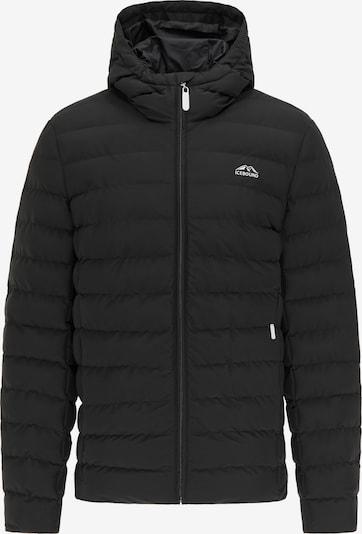 Giacca invernale ICEBOUND di colore nero: Vista frontale
