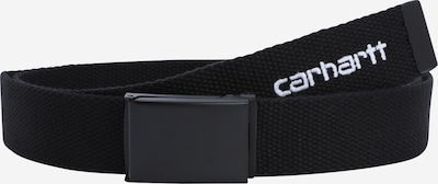 Carhartt WIP Ceinture en noir / blanc, Vue avec produit