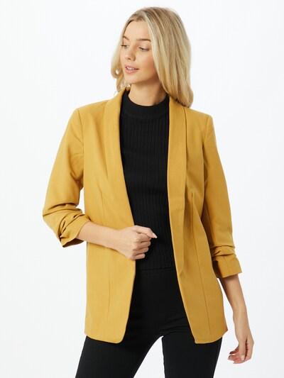 PIECES Blazer in gold, Modelansicht