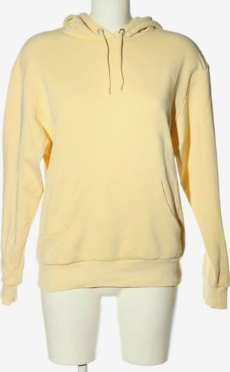 Monki Sweatshirt & Zip-Up Hoodie in XS in Pastel yellow, Item view
