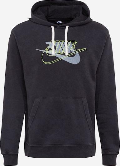 Nike Sportswear Sweatshirt 'RETRO' in neongelb / schwarz, Produktansicht
