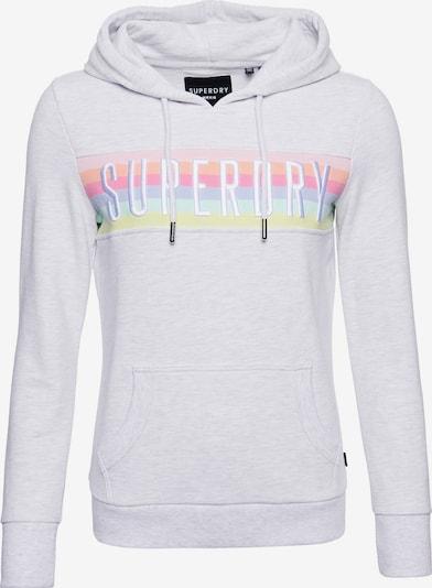 Superdry Sweatshirt in rauchblau / hellblau / senf / grau / orange / rosa / rosé, Produktansicht
