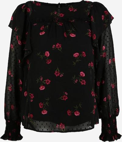 Dorothy Perkins Blouse in de kleur Donkerroze / Zwart, Productweergave
