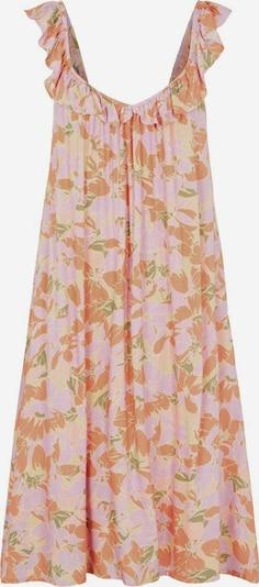 Y.A.S Robe d'été 'Juna' en jaune pastel / kaki / violet pastel / corail: Vue de face