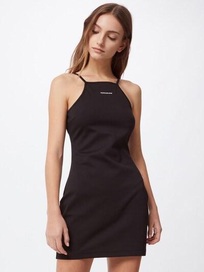 Calvin Klein Jeans Kleid 'Milano' in schwarz / weiß, Modelansicht