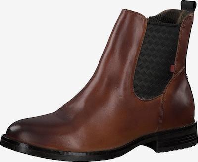 s.Oliver Chelsea boty - koňaková / černá, Produkt