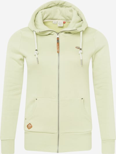 Ragwear Plus Sweatjacke 'NESKA' in mint, Produktansicht